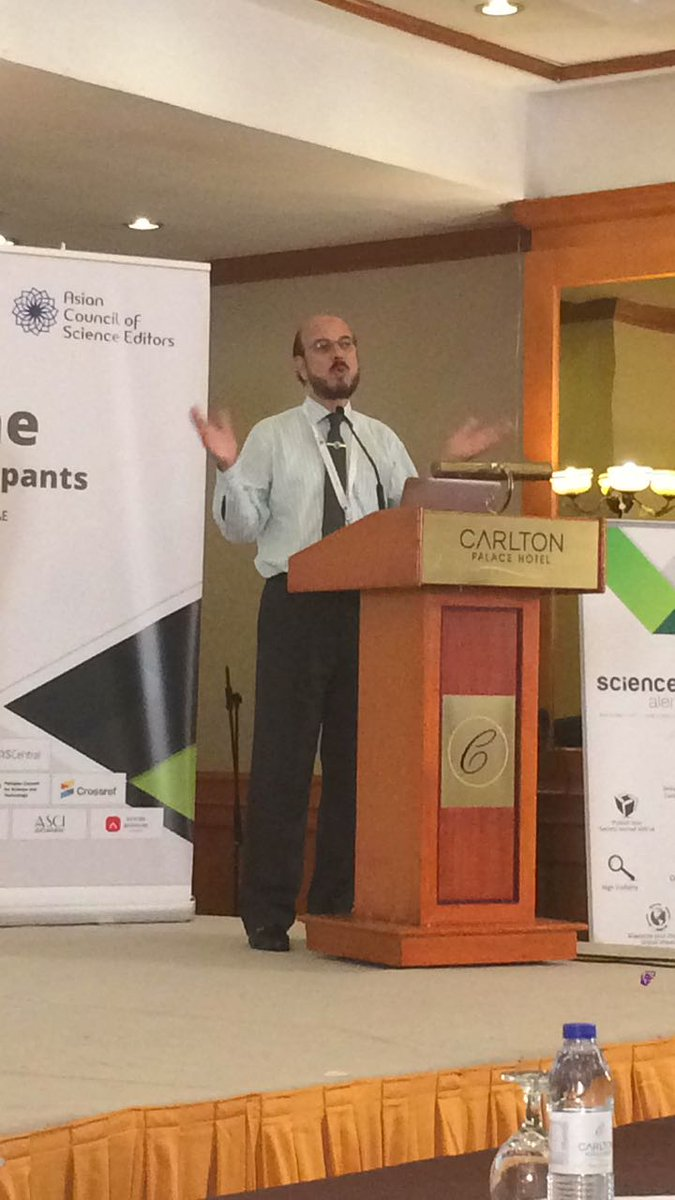&quot;Your science should have a positive impact on human lives&quot;@ZabtaShinwari @Editage #ACSE2017 <br>http://pic.twitter.com/4y2q7jvsKN