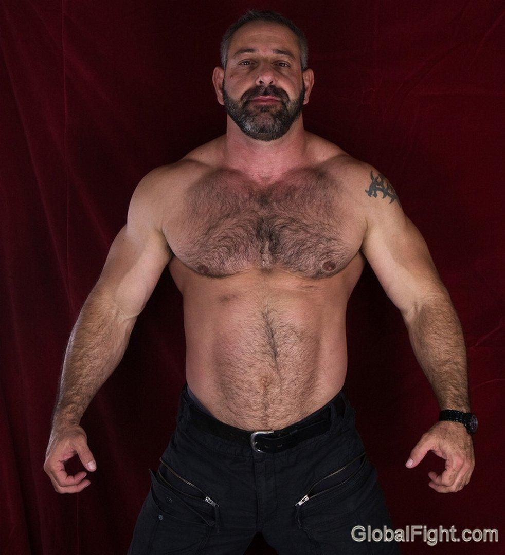 My bearded wrestle bud from  http:// GLOBALFIGHT.com  &nbsp;   #beards #wrestle #man #hairy #chest #pecs #muscles #woof #strong #big #muscles #hunk #ny<br>http://pic.twitter.com/huhbNTOKmd