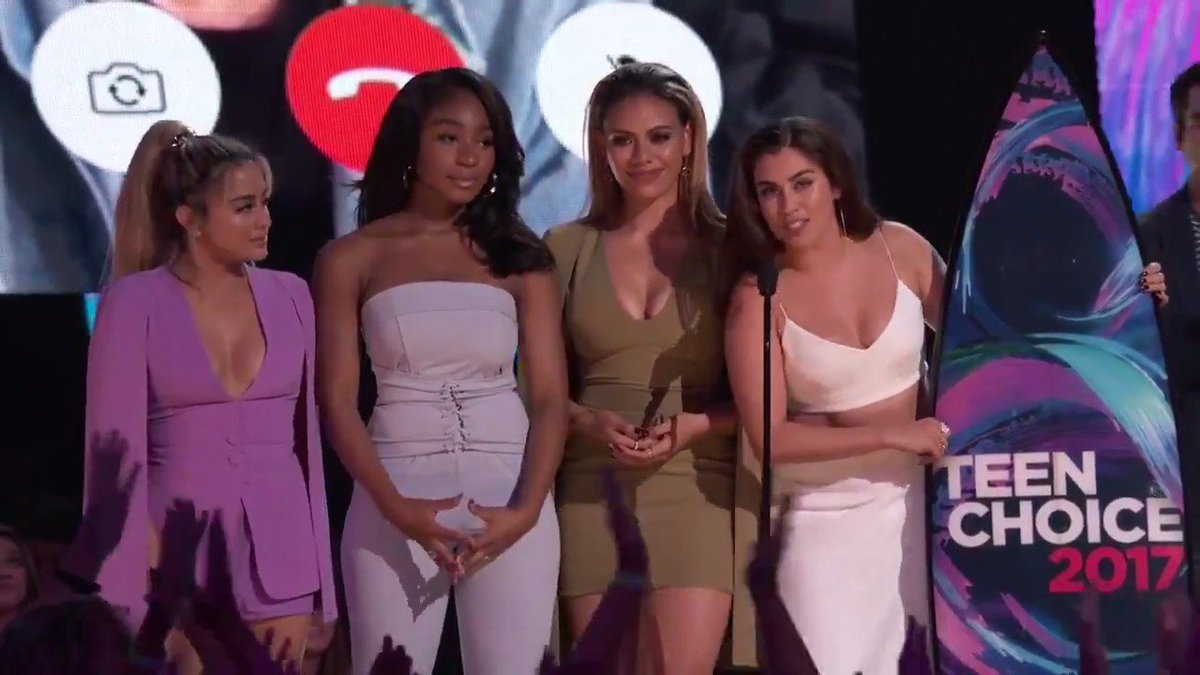 The QUEENS of @FifthHarmony went home wi...