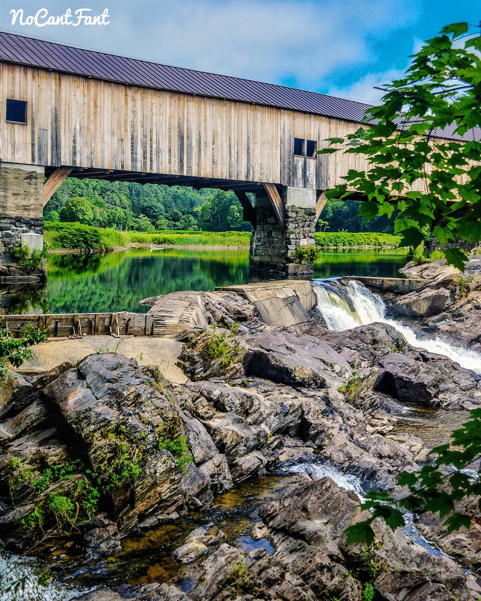 *Bath Covered Bridge*Create Your World! #Nomad #Bridges #wanderlust #newhampshire #waterfall #beauty #NoCantFant #Something4thepeople <br>http://pic.twitter.com/K6SgsyDif8