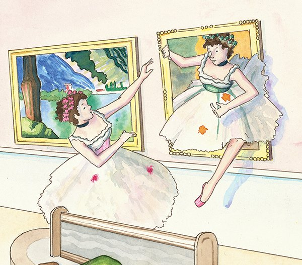 Degas dancers waltz their way through the picture book &quot;Magic at the Museum.&quot;  http:// ow.ly/LKwJ30afViA  &nbsp;   #degas #ballet #picturebook #gallery <br>http://pic.twitter.com/SnzeenAAyR