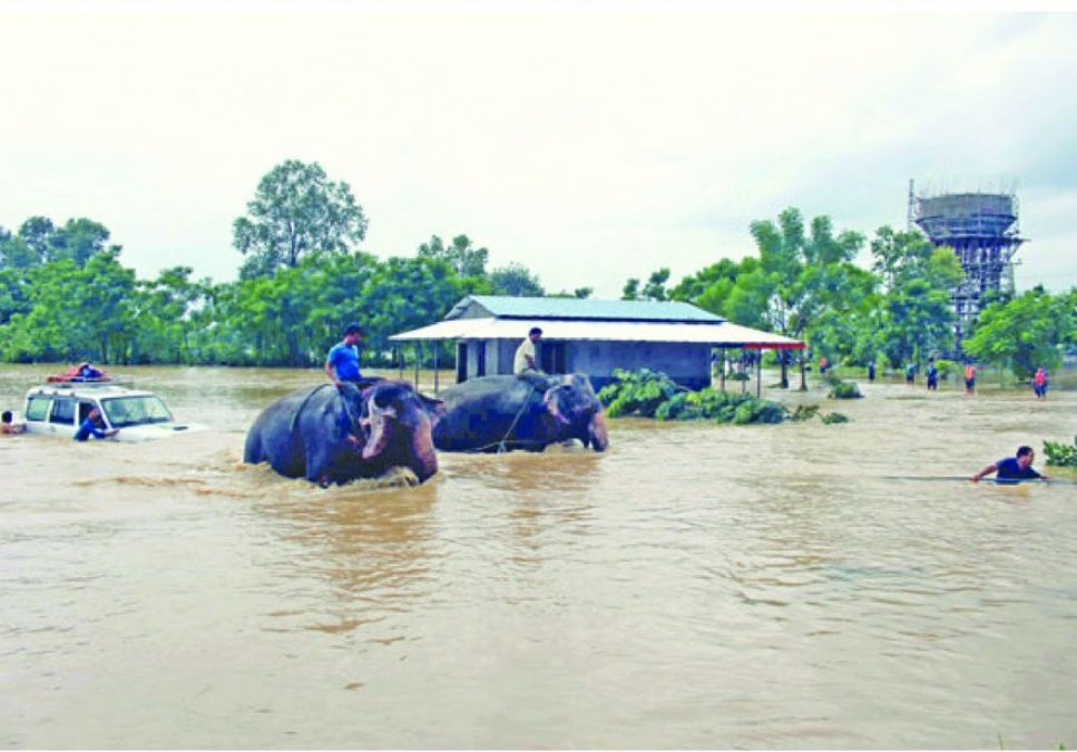 26 out of 75 districts in #Nepal are flooded. 35k houses effected. #Nepalfloods2017  Pic from @ekantipur_com  #NepalFlood<br>http://pic.twitter.com/PR5zHi2Dgq