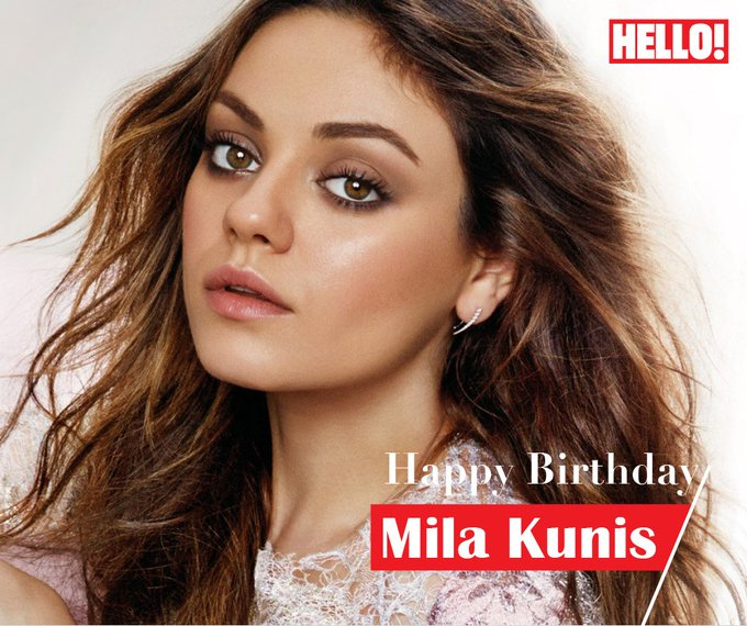 HELLO! wishes Mila Kunis a very Happy Birthday