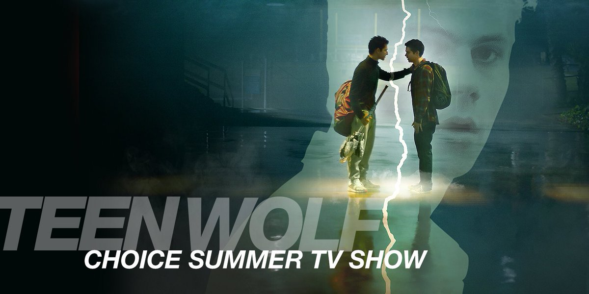 Congratulations @MTVteenwolf ! You rock the #choicesummertvshow award! https://t.co/6uH5NmEjGT