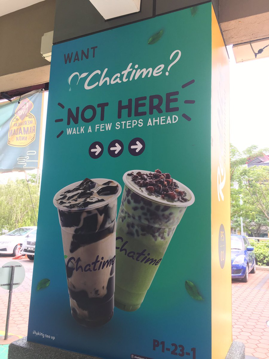 Aliza Ali: Sales At Four Chatime Outlets In