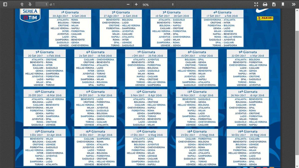 Calendario Partite Seria A.Pasquale Sorgente On Twitter Sky Sport Calcio Calendario