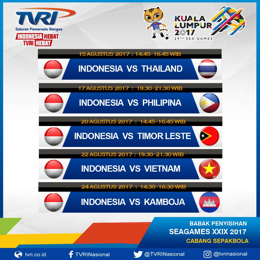 Live Streaming Sctv Sport: SEA GAMES 2017 : All Football Matches - Page 7