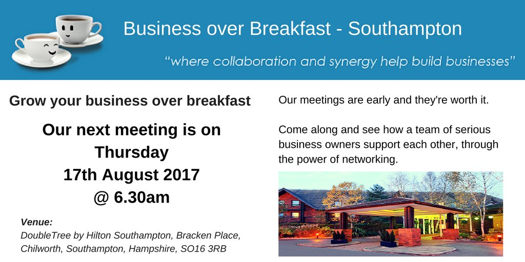 BoB Hampshire has various #Business #Networking  meetings throughout #Hampshire, why not join us? @DoubleTreeSoton  http:// ow.ly/vng830e1f0o  &nbsp;  <br>http://pic.twitter.com/JFWF33cCq7
