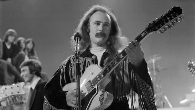 Happy birthday to American singer-songwriter and guitarist David Crosby, born on 14th Aug 1941