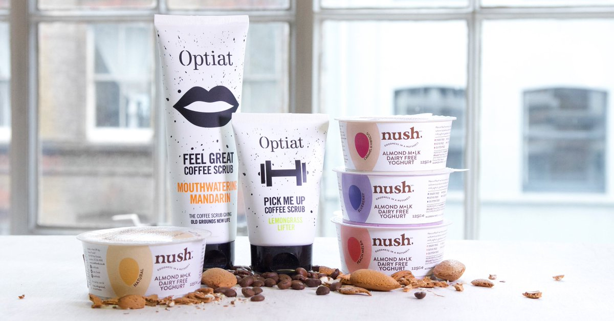 Get your hands on our Almond Milk yogs &amp; @optiat&#39;s #vegan scrubs! To #win, RT &amp; follow us both! T&amp;Cs apply, #comp ends 20.08.17 <br>http://pic.twitter.com/iySbEu6N5K