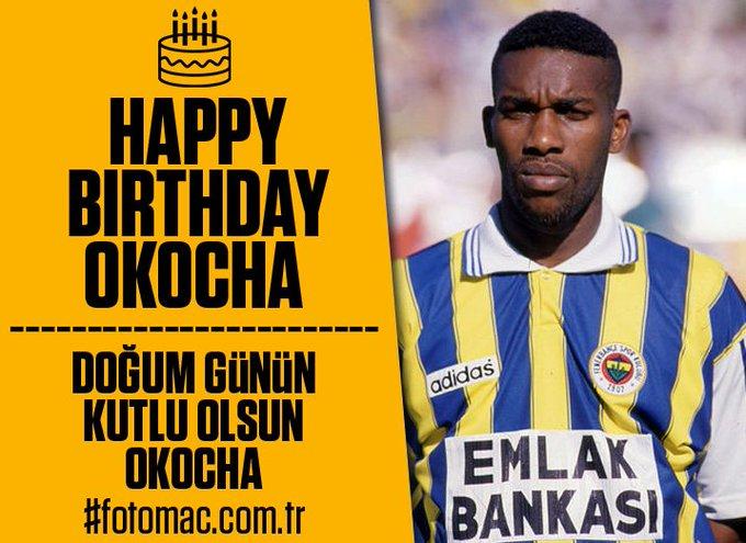 Bugün eski Fenerbahçeli Jay-Jay Okocha\n n do um günü Mutlu y llar / Happy birthday IAmOkocha