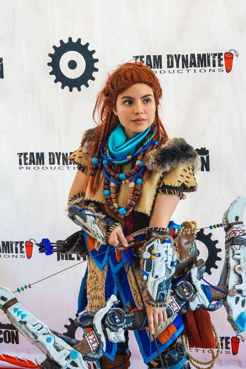 I will post more pictures soon! @Guerrilla  #metrocon #horizonzerodawn #aloycosplay #PlayStation #PS4 #cosplay #cosplayer #art #geek #games<br>http://pic.twitter.com/ovm8za5jar