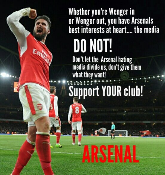 Support YOUR club!  #Arsenal <br>http://pic.twitter.com/xczJNYWbps