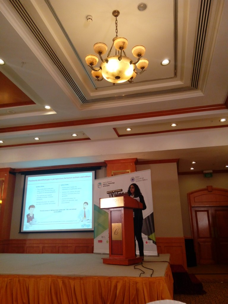 We need to consider the author views regarding the publication process @kakoli_majumder @Editage #ACSE2017 #openaccess<br>http://pic.twitter.com/N8leNOLkvt