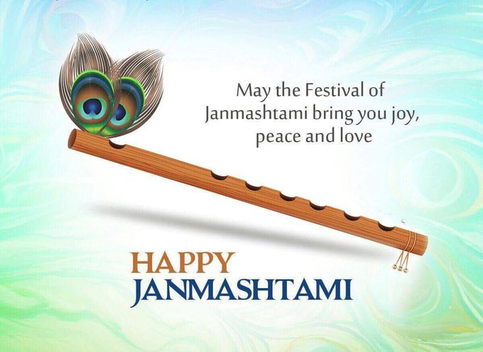 Happy Janmashtami To all of u ❤️ https://t.co/UokFz8L0Tr