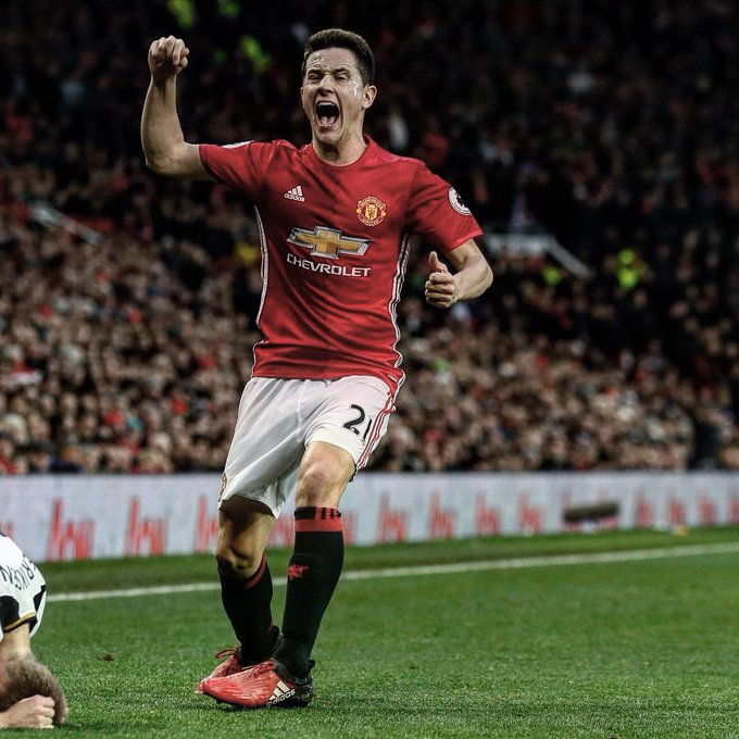 Happy birthday to Ander Herrera. The Manchester United midfielder turns 28 today.