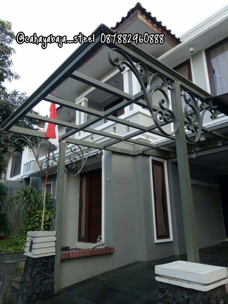 Pintu Pagar Rumah Wrought Iron - Home Desaign