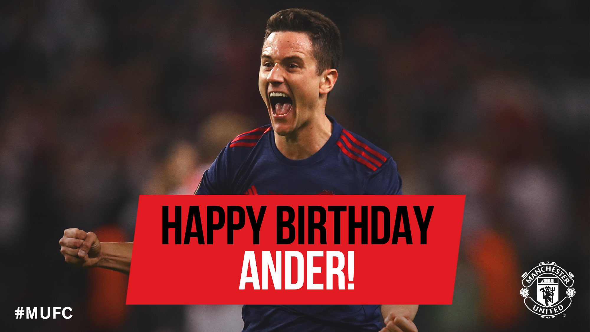 Happy 28th Birthday, Ander Herrera!
