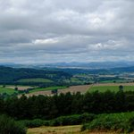 Views to the Brecons and over the Severn as we continue our walk of the Wysis Way.