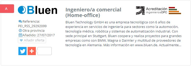 NUEVA OFERTA DE EMPLEO: Ingeniero/a comercial (Home-office)--> https://t.co/8cm7aDVCYo https://t.co/HdZVRs19lO