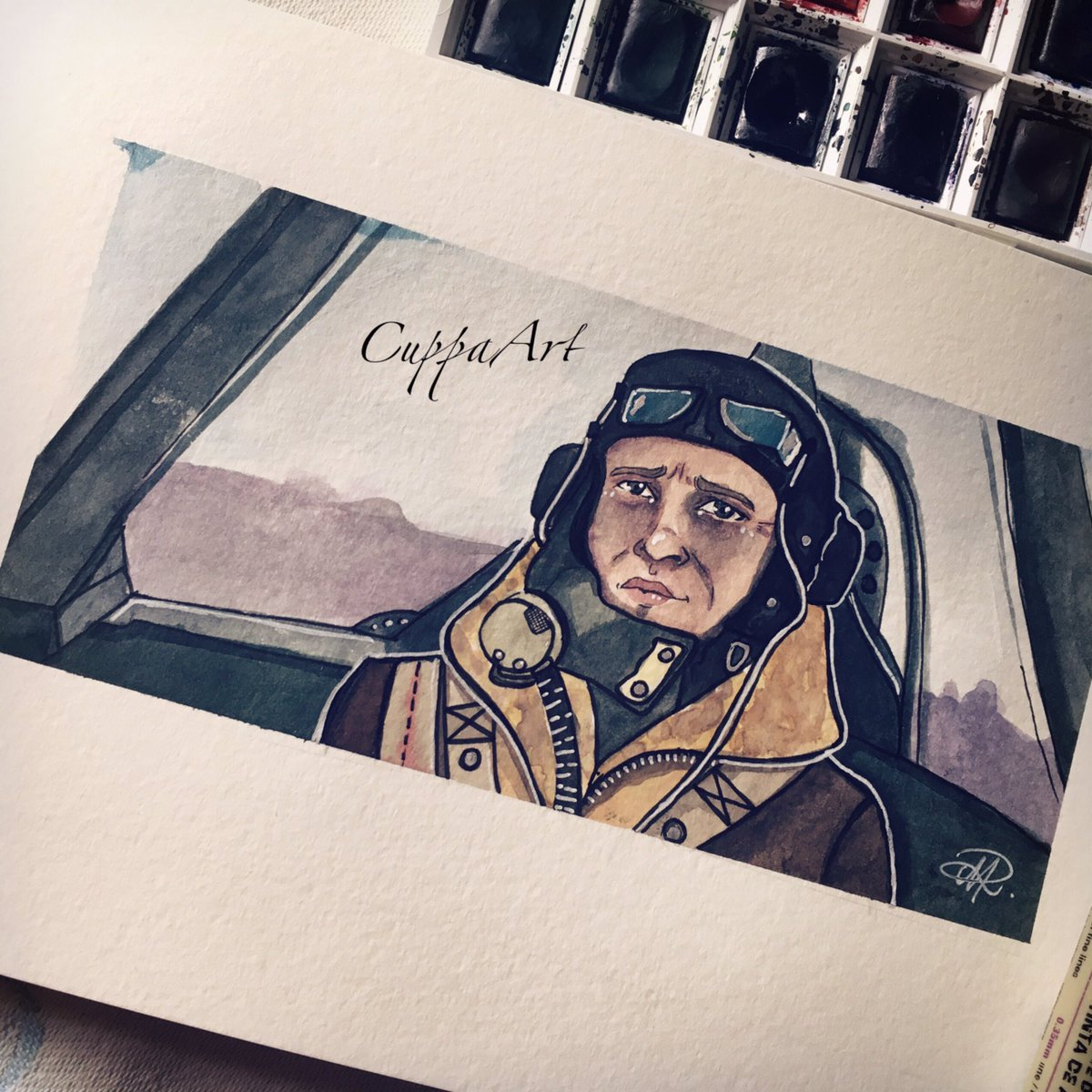 Real life Hero   Tom Hardy in Dunkirk   RTs are truly appreciated   #tomhardy #dunkirk#tomhardyfanart <br>http://pic.twitter.com/OsODetzZ5z