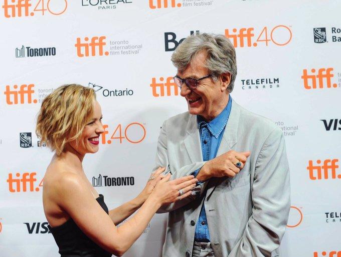 Happy Birthday to director Wim Wenders! Mr. Wenders directed Rachel in (2015)