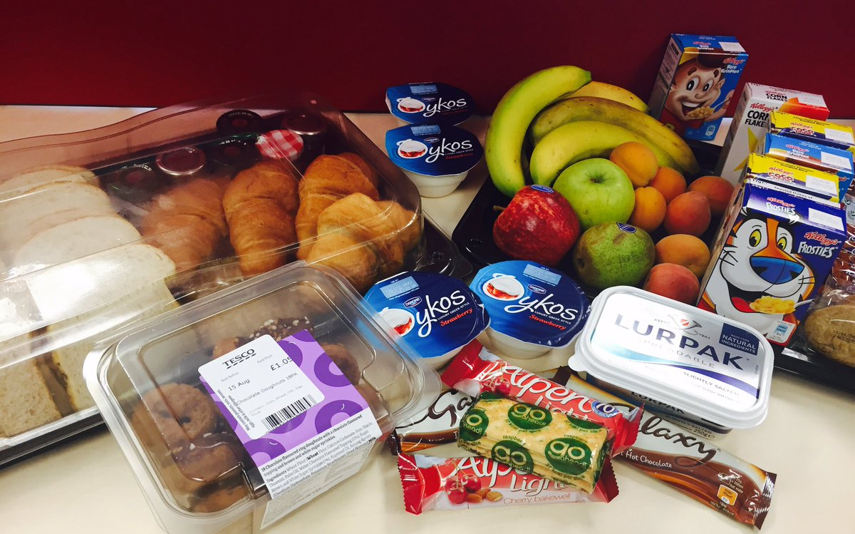 Breakfast provided by one of the Team Leaders for her team this morning! #greatstarttotheweek #breakfastatnayyars<br>http://pic.twitter.com/RtSDLxQOfh