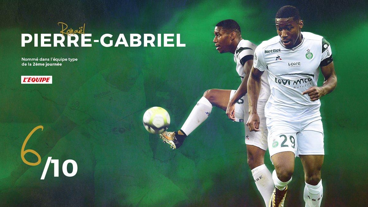 Félicitations à Ronaël #PierreGabriel, nommé dans l'équipe type du journal @lequipe après #SMCASSE (6/10)  !   http:// bit.ly/2w2XFgg    pic.twitter.com/qC1ajIvkrs