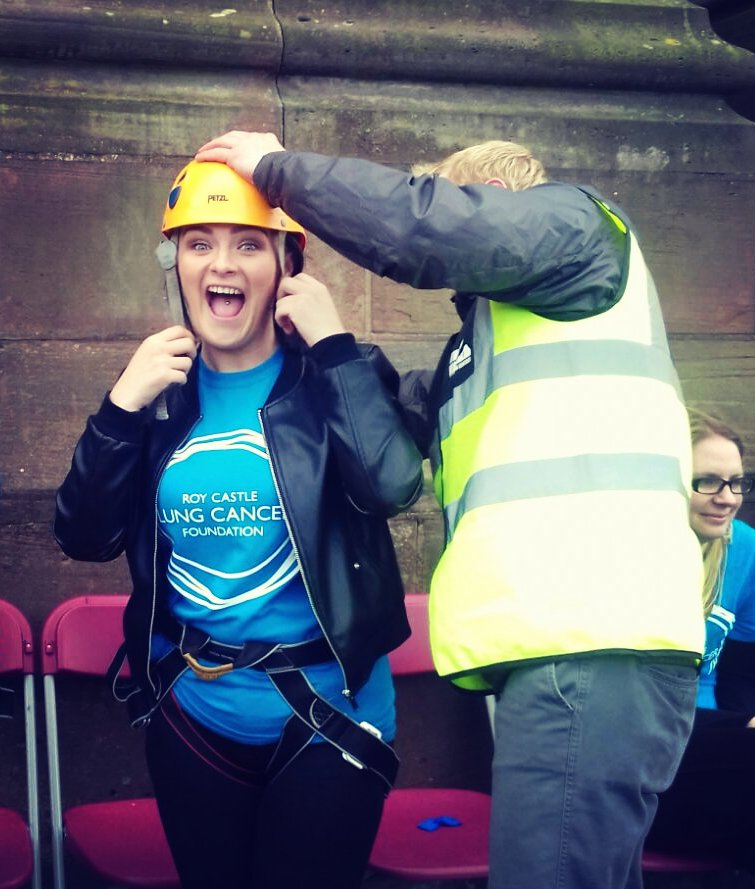 did our little Jen make it to the bottom of @LivCathedral for @Roy_Castle_Lung? Find out at  https://www. kammac.com/news/roy-castl e-abseil-2017/ &nbsp; …  #Charity #Abseil <br>http://pic.twitter.com/SMKNpM4VpF