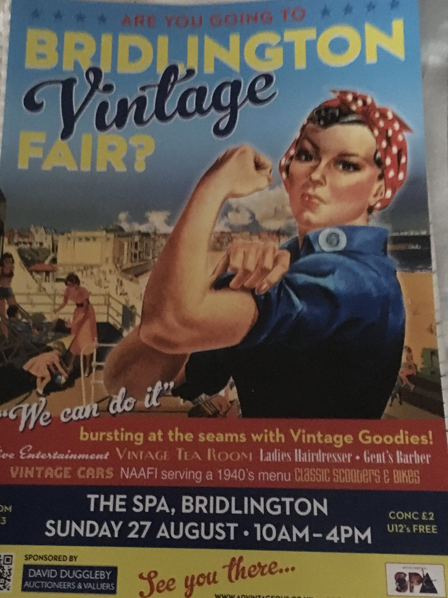 #bridlington #spa fab #vintagefair here again #NAAFI serving a #40s menu #vintagecars #classiccars &amp;#bikes great day out for all the family<br>http://pic.twitter.com/x9VpTtN9MM