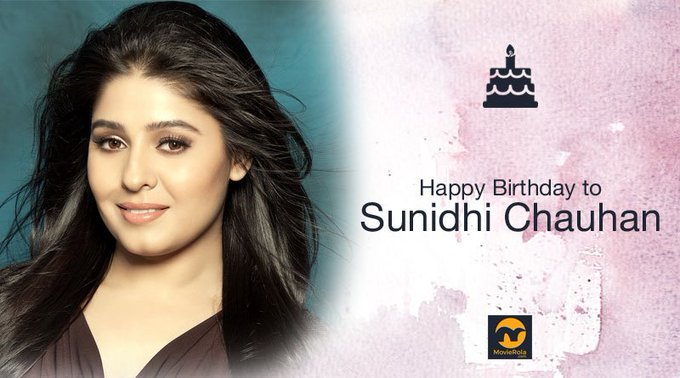 Happy Birthday to Sunidhi Chauhan.