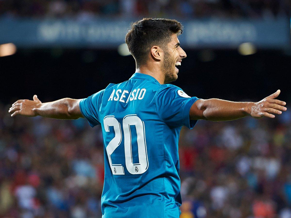 Asensio debut goals ⚽️  UEFA Super Cup ☑️ Liga ☑️ Copa del Rey ☑️ #UCL ☑️ Spanish Super Cup ☑️