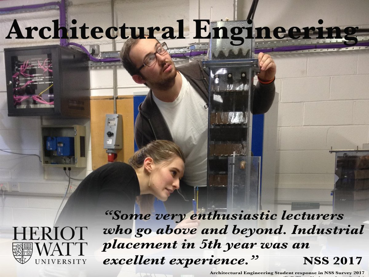 #Architectural #Engineering: gain multidisciplinary #sustainability knowledge, &amp; #practical applied #experiment in our labs.  #Clearing2017<br>http://pic.twitter.com/4N4SpabN0T