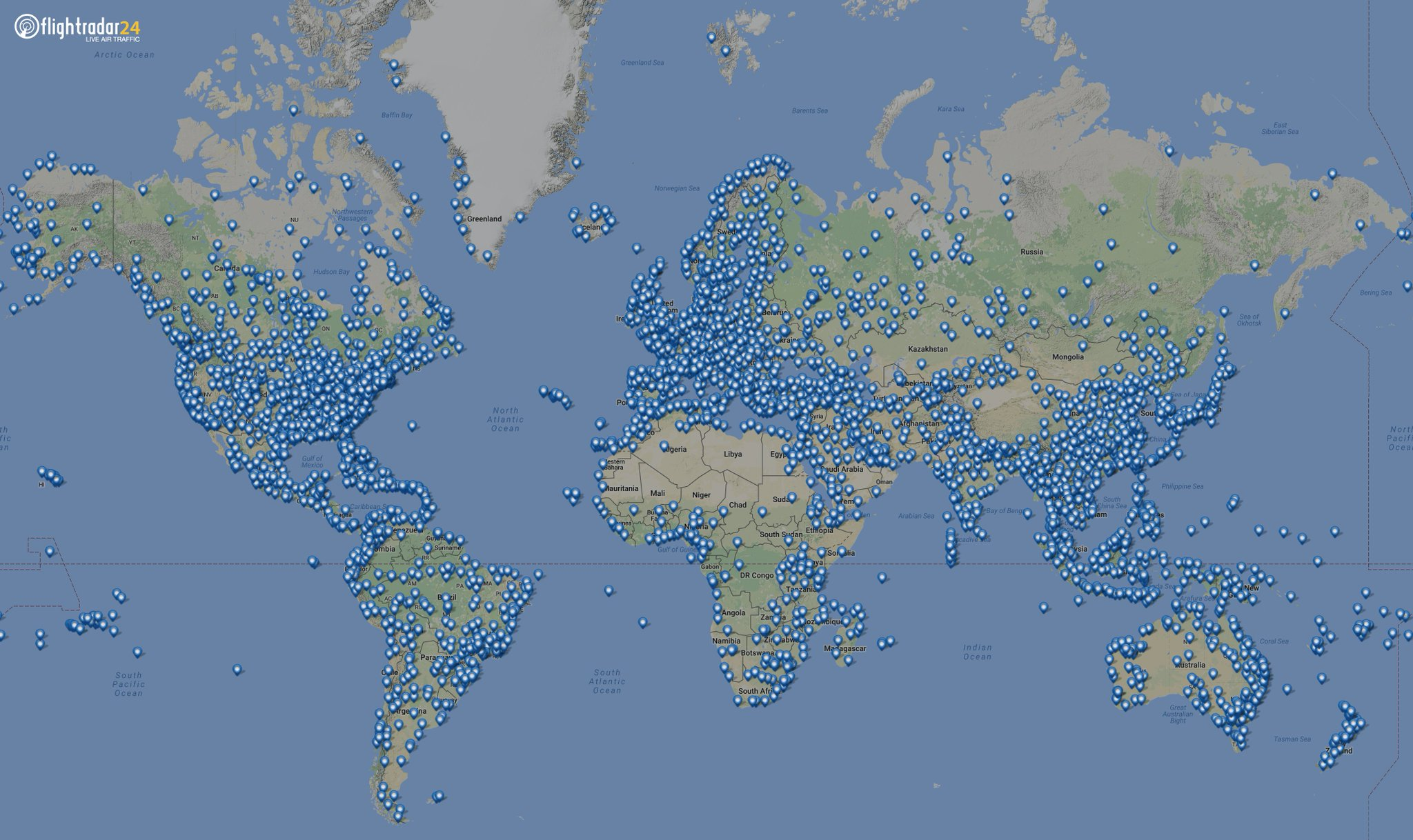 Click on any of the pictures to see the airport diagram - Flightradar24 On Twitter Over The Weekend We Added 100 Airports To Our Database With 3500 Airport Pins Now On The Map Click Any Pin For Airport Info