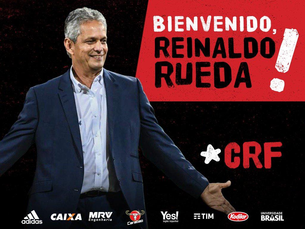 Assinou! Reinaldo Rueda é o novo treinador do Flamengo #BienvenidoRueda