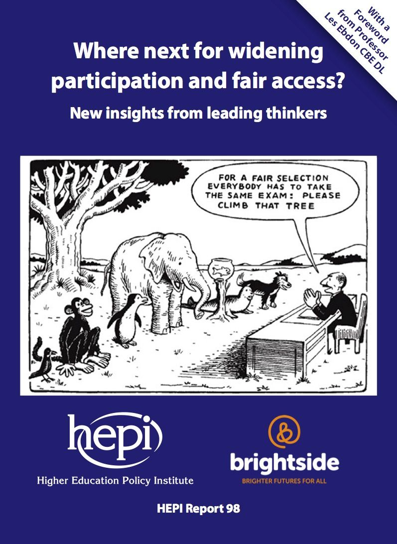 Get up to speed with the latest thinking on #widening #participation from @HEPI_news  https:// buff.ly/2vTX0xd  &nbsp;  <br>http://pic.twitter.com/muvcPmrcO1