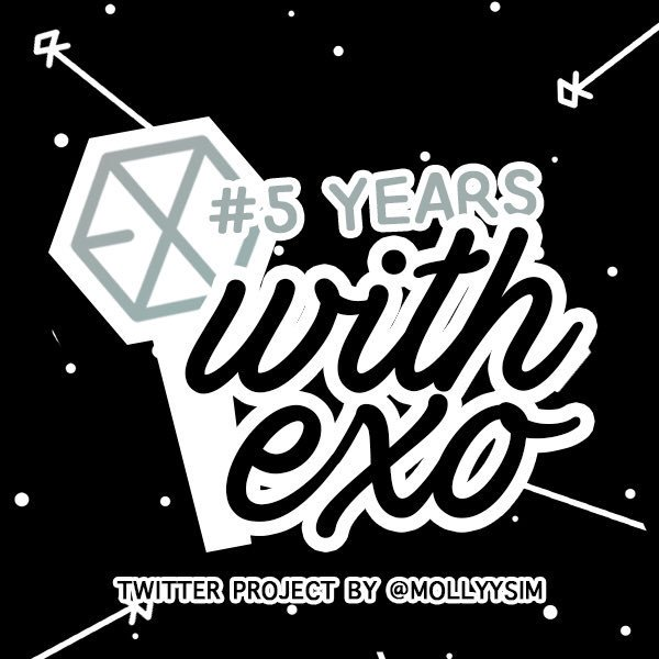 Please support EXO #weareoneEXO #5yearswithexo Design by @mollyysim<br>http://pic.twitter.com/WbARIPZ5eY