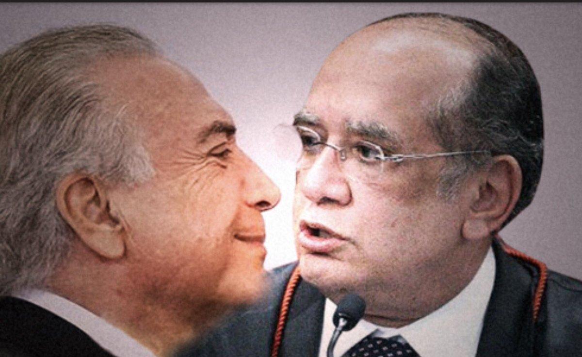 'Temer e Gilmar Mendes se casam fora da agenda'. @revistapiaui