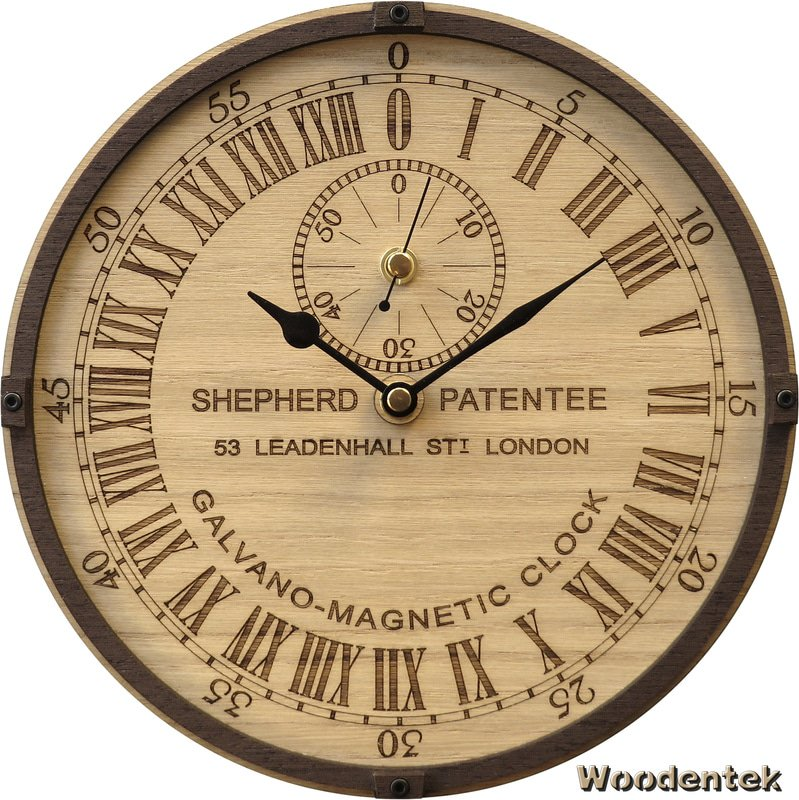 Handmade #Greenwich #Galvano-Magnetic clock in wood #GiftsIdeas #FathersDay #Artisan  -  https://www. etsy.com/listing/477868 726/greenwich-galvano-magnetic-clock-in-wood?ref=shop_home_active_2 &nbsp; … <br>http://pic.twitter.com/mjN9gux66Z