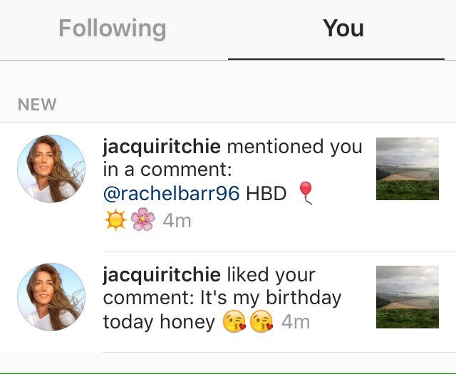 Guess what folks? Guy Ritchie\s wife said happy birthday to me today, thank you love