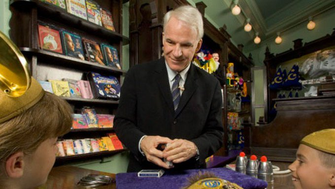 Happy birthday to Disney Legend Steve Martin!
