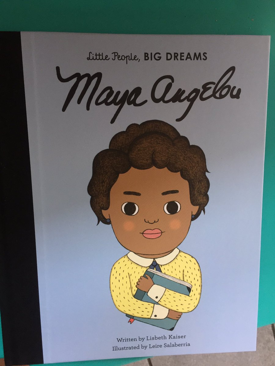 What a great display of books @Waterstones today! Couldn&#39;t resist buying Maya Angelou! #WomenEd #WomenEdLondon @morgan_chatten @SuHAppyNess<br>http://pic.twitter.com/Lepc7x1f0r