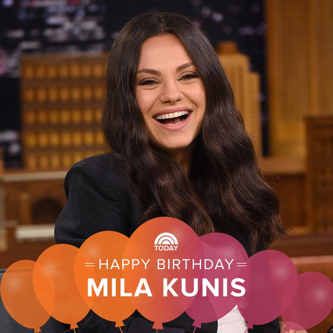 Happy birthday, Mila Kunis!