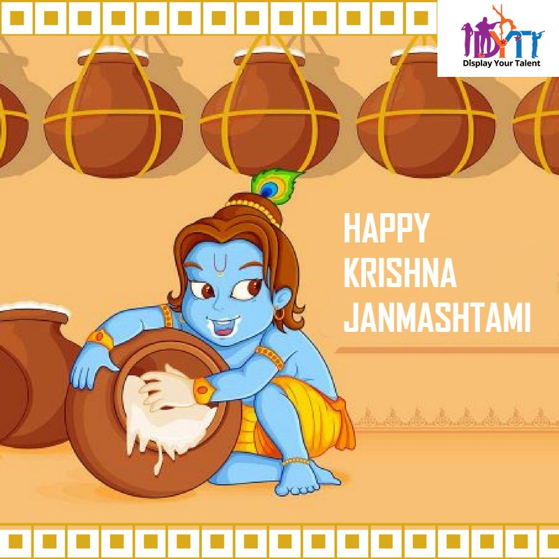 May the #NatkhatNandlala always give you many reasons to be Happy and you find peace in #Krishna's consciousness. Happy #KrishnaJanmashtami!