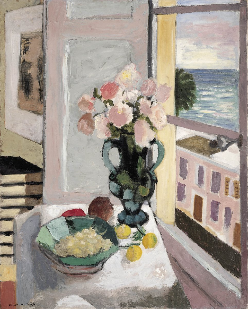 Картинки по запросу matisse flowers in front of a window