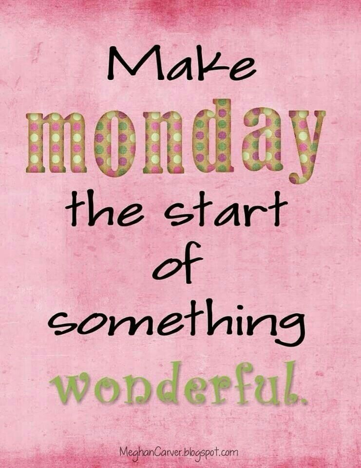 "Good Life Quotes on Twitter: ""Make Monday the start of something ..."