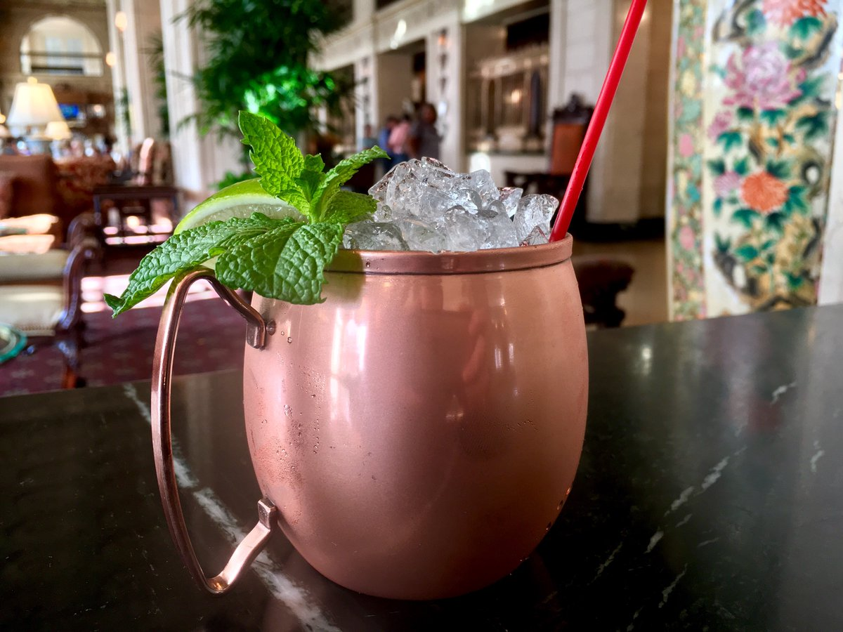 """the brown hotel on twitter: """"we've got new #cocktails at the lobby"""