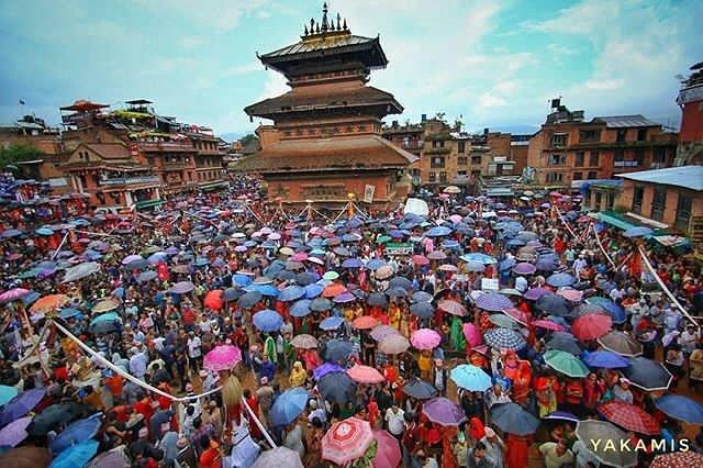 #Repost of @shivakrishnayakami captured during #gaijatra #festival #taumadi#bhaktapur #tahamacha #yakamis<br>http://pic.twitter.com/sqlzd8f0KM