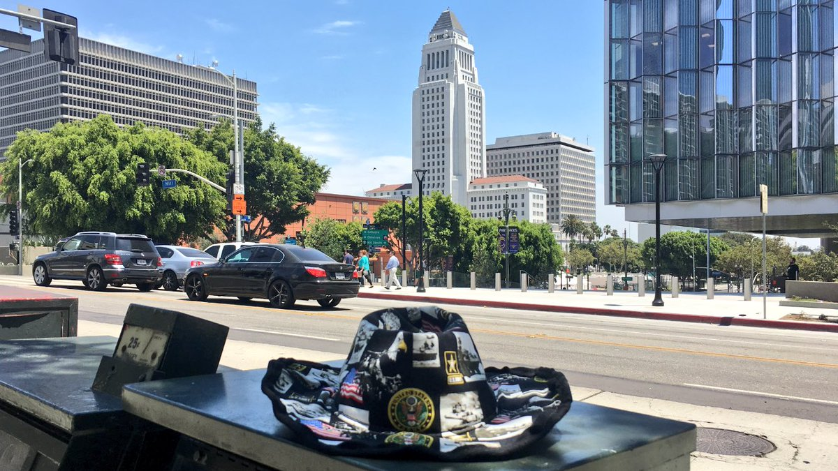 The streets of Los Angeles. #LosAngeles #California #SupportOurTroops #supportourveterans #PTSDAwareness #godisgood #DTLA #cityhall #USA<br>http://pic.twitter.com/02nsiL5hMq