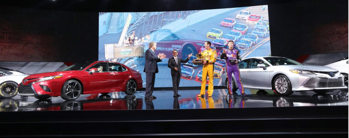 Adam Stern On Twitter Nascar Playing Key Role In At Toyotas